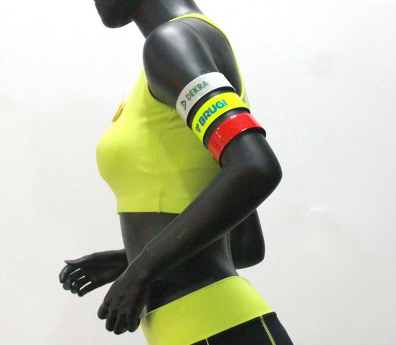 Reflective Safety Armbands Custom Slap Bands Wholesale